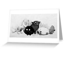 Persian cats Greeting Card