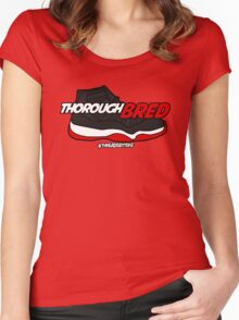 ThoroughBRED 11's Women's Fitted Scoop T-Shirt