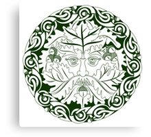 Greenman - Father Of The Forest Canvas Print