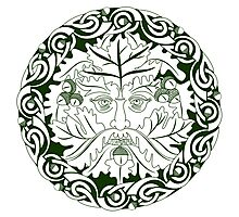 Greenman - Father Of The Forest Photographic Print
