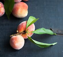 Fresh peaches  by anhsfoodblog