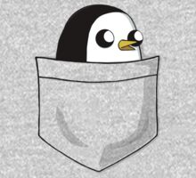 There's an evil penguin in my pocket! Kids Clothes