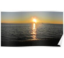 Sunset Siteline Poster