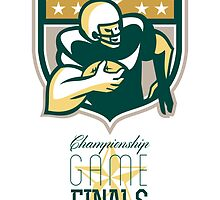 American Football Championship Game Finals QB by patrimonio