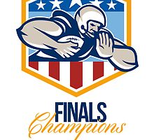 American Football Running Back Finals Champions by patrimonio