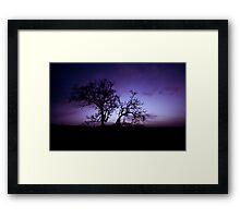 Twilight Sedation ... Framed Print