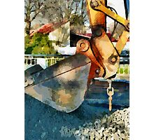The Hydraulic Shovel  Photographic Print