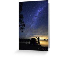Lake Eppalock: Astro Greeting Card