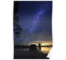 Lake Eppalock: Astro Poster