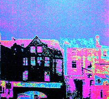 Gas Street Basin, Birmingham by Artisimo
