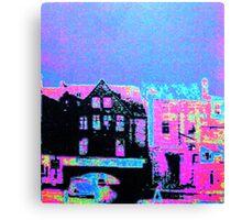 Gas Street Basin, Birmingham Canvas Print