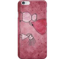 Couple with Heart iPhone Case/Skin