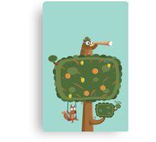 The Owl Tree Canvas Print