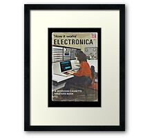 'How It Works': Electronica Framed Print