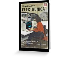'How It Works': Electronica Greeting Card