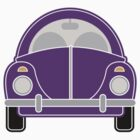 Purple Car by Louise Parton
