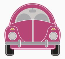 Pink Car by Louise Parton