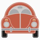 Orange Car by Louise Parton