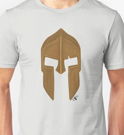 Spartan helmet light bronze Unisex T-Shirt