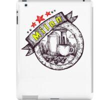 coffee time Milano Italia iPad Case/Skin
