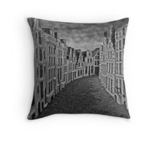 Empty Street Throw Pillow