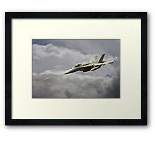 F18 Sting Framed Print