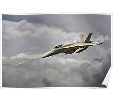 F18 Sting Poster