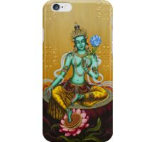 Green Tara iPhone Case/Skin