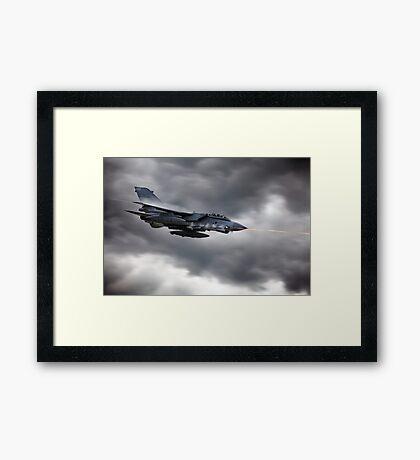 Tornado Mauser Framed Print