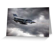 Tornado Mauser Greeting Card