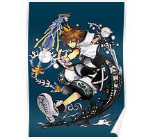 "Sora ""Kingdom Hearts"" Poster"