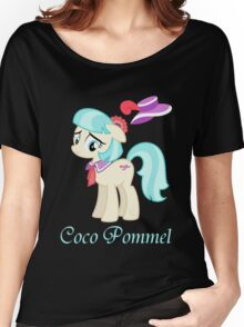 Coco Pommel  Women's Relaxed Fit T-Shirt