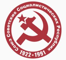 Soviet Union 1922-1991 Hammer and Sickle Stickers by NeoFaction