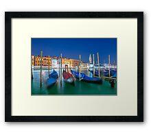 Gondola Framed Print