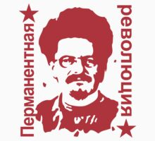 Leon Trotsky Permanent Revolution Stickers by NeoFaction