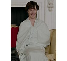Sherlock in his sheet Photographic Print