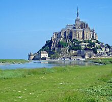 Mont Saint Michel - France by Arie Koene