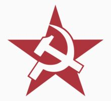 Soviet Hammer and Sickle Red Star Stickers by NeoFaction