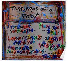 teardrops of a poet Poster