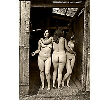 """The Three Graces No.1"" Photographic Print"