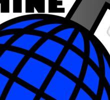 THE_WORLD_IS_MINE Sticker
