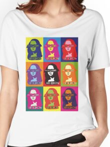 GOD_SAVE_THE_MONA_LISA Women's Relaxed Fit T-Shirt