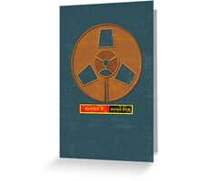Super 8 movie film Greeting Card