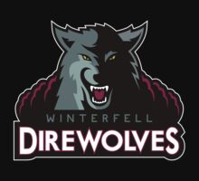 Winterfell Direwolves by JamesShannon