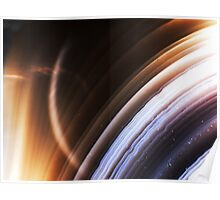 Ringed Planet (Botswana Agate) Poster
