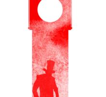 Jack the Ripper - London Big Ben Design Sticker