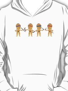 C3PO TMNT FIGHT T-Shirt