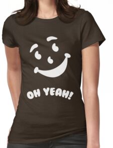 Kool-Aid Man Womens Fitted T-Shirt