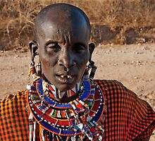 Masai Ear Gauging by phil decocco