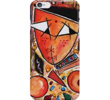 Original Art Painting: Women in the Shower by Hassan Hamdi iPhone Case/Skin
